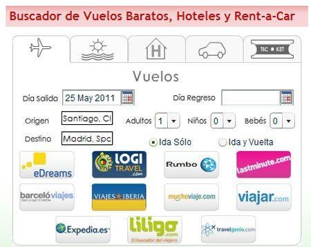 vuelos baratos a Madrid con bajovuelos