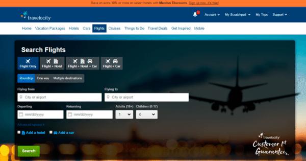 travelocity buscador de vuelos baratos