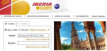 viajes iberia