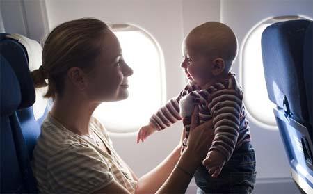 volar con bebes